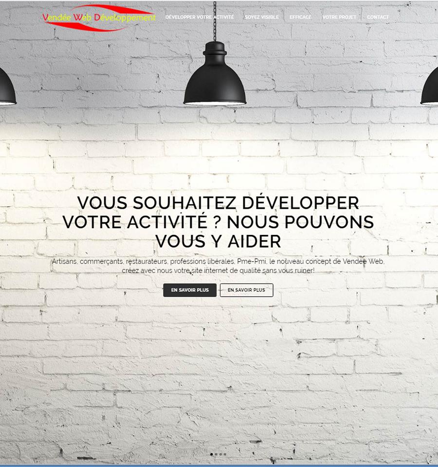 Vendée web développement